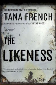"""The Likeness"" by Tana French (Dubline Murder Squad,#2). A fat, well-written mystery. I can see why French is compared with Louise Penny's Inspector Gamache series, though French's stories tend to be a bit darker. I felt that one plot key (a main character withholiding evidence from her superiors') was hard to believe. Overall, though, a gripping book with well-rounded characters and perfectly set scenes."