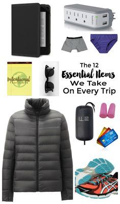 12 Items We Bring on Every Trip   Packing for frequent travel and Digital Nomad living   Intentional Travelers