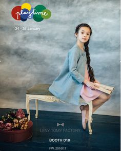 The next festive season Leny Tomy factory brand offers classical and timeless celebration clothes for little ladies and gentlemen with a little bit of a touch of French style.