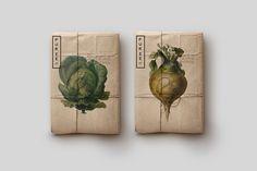 Organic Design Puree Organics Branding by Studioahamed - Inspiration Grid Corporate Identity Design, Identity Branding, Visual Identity, Branding Ideas, Organic Packaging, Brand Packaging, Design Packaging, Food Packaging, Cheese Packaging