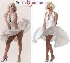 vestido Marilyn Monroe Marylin Monroe Costume, Fantasia Marilyn Monroe, Halloween Ideas, Halloween Costumes, Marilyn Moroe, Pauley Perrette, Ballet Skirt, Drawing, Sexy