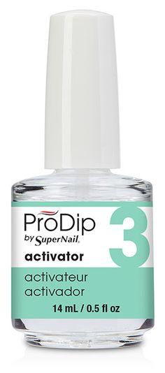 Supernail Prodip French Acrylic Dip Powder Clear 2 Ounce Christmas