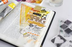 Did Someone Say . . . Bible Journaling? | The Cupcake Caravan.  Beginning a journaling Bible obsession.