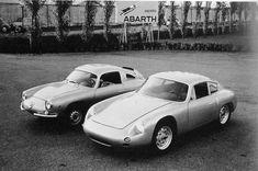 Fiat Abarth 1000 Bialbero e la Porsche Abarth Carrera GTL