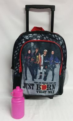 Disney Descendants Born That Way Backpack School Travel Back Pack