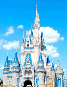 Disney's Cinderella's Castle in LA & Hong Kong...feel like a big kid!!
