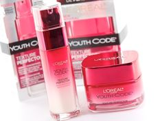 New! L'Oreal Paris Youth Code Texture Perfector Line