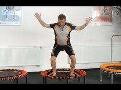 Rückenschmerzen: Rücken stärken mit bellicon® Minitrampolin