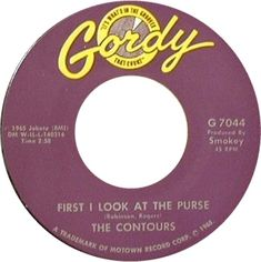First I Look At The Purse - The Contours (1965) Tamla Motown, Northern Soul, Rhythm And Blues, Soul Music, Contours, Lps, Jukebox, Album Covers, Vinyl Records