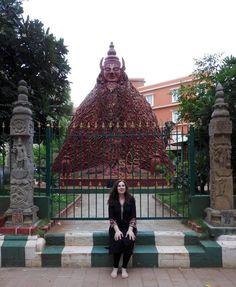Isebella at Mysore Ashram at weekend