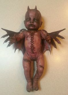 Autopsy staple babies Demon Baby Zombie Baby Doll