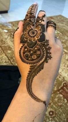 New EID Mehndi Designs 2020 Beautiful, Simple and Easy Eid Mehndi Designs, Khafif Mehndi Design, Henna Art Designs, Mehndi Designs For Girls, Mehndi Designs For Beginners, Stylish Mehndi Designs, Mehndi Design Photos, Mehndi Designs For Fingers, Latest Mehndi Designs