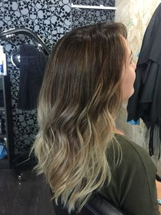 Blonde Balayage ombre by The Room