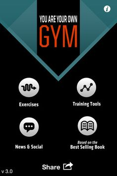 """The """"You Are Your Own Gym"""" app for iPhone and iPad. Seems cool."""