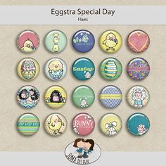 SoMa Design: Eggstra Special Day - Flairs
