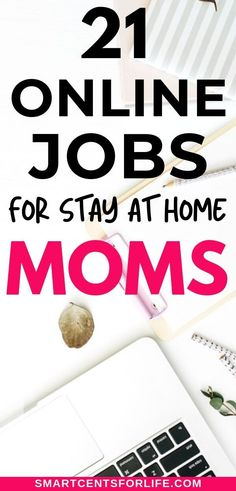 Legitimate Stay At Home Mom Jobs That Pay Well. Find out the best stay at home mom jobs ideas to make money from home while taking care of your kids! Ways To Earn Money, Earn Money From Home, Make Money Fast, Earn Money Online, Online Jobs For Moms, Easy Online Jobs, Stay At Home Mom, Work From Home Moms, Extra Money