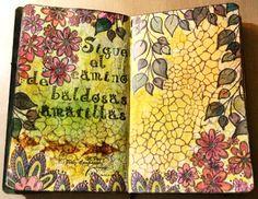 El camino de baldosas amarillas. M.Paz Pérez-Campanero #artjournal