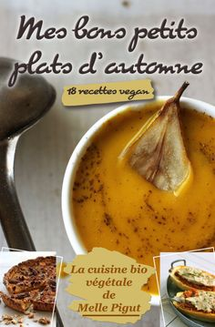 © PIGUT - Livre : Mes Bons Petits Plats d'Automne - 18 recettes vegan