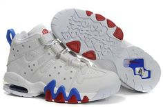 be7e4434050 Nike Air Max 2 CB 94 Mens Basketball White Blue Red Shoes Nike Air Max 2