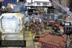 Vivid New Pics of the Battle For Calth - 40k Studio Table - Spikey Bits