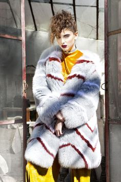 "EGO, A/W '17-'18 collection ""Art Meets Fashion"" campaign shoot | Graph Avenue"