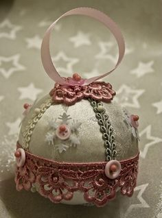 Make Your Own Victorian Christmas Ornament