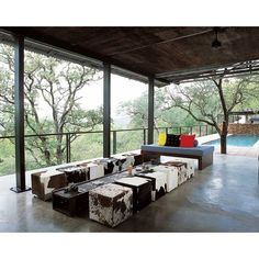 the boutique hotel is called The Outpost, Kruger National Park