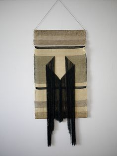 Native Line Tapestries by Justine Ashbee