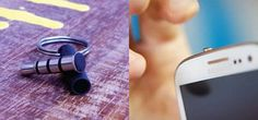 Plug-in smartphone device adds a button that can do anything (for Android only atm). Very Very clever idea.