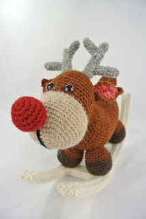 Haakpret: Rudolph hobbeldier