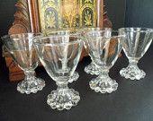 Barware Cordial Glasses Boopie Berwick by Anchor Hocking Set of 6 Mid Century Mad Men