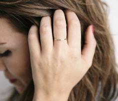 tiny gold ring | hS