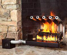 Spitfire Tube Fireplace Heaters
