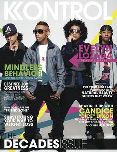 Mindless Behavior Covers Kontrol Magazine