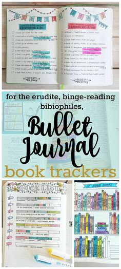 Try a Bullet Journal Book Tracker; Bibliophiles-Log Your Favorite Book Lists | Zen of Planning | Planner Peace and Inspiration