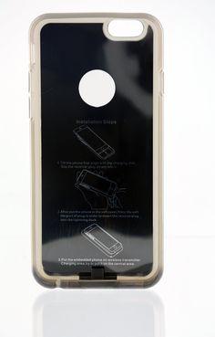 BIDUL i-Wireless Case 4B : Coque de protection et de chargement iPhone 4 / 4S pour chargeur sans fil (technologie QI) - Couleur : Noire: Amazon.fr: Informatique