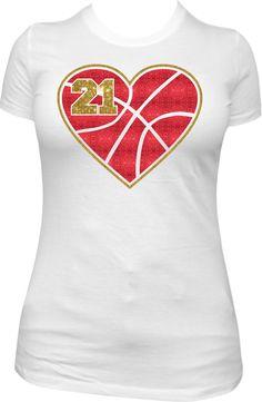 70e209d8f Basketball Mom Glitter Shirt  CUSTOM TEE  by GlitzyTees
