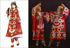 Traditional Clothes of Tajikistan