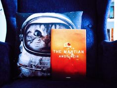 Book with a place I'd like to visit: Mars or space haha #Loveathon #TheMartian #CatWatney by bookmarauder