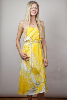 Yoana Baraschi - Beach Baroque Midi Dress | Chloe Rose