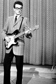 Buddy Holly. He proved that simplicity can be made iconic