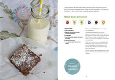 Black bean brownies from Munch Lunchbox Cookbook Black Bean Brownies, Black Beans, Cool Kitchens, Glass Of Milk, Lunch Box, Frozen, Gluten Free, Cooking, Healthy