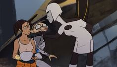 When You Love Classic Animation - You Monster: #Portal2 Animated Short