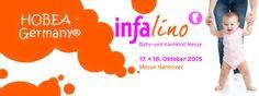 17.+18.10.2015 Infalino Messe in Hannover  HOBEA-Germany GmbH ist erstmalig auf der infalino Messe in Hannover mit dabei!  Die infalino ist die Einkaufsmesse für werdende Mütter, frischgebackene Eltern, Großeltern, Babys und Kleinkinder bis sechs Jahre.
