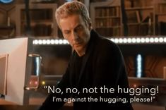 "His relationship with Clara is taking on a fun personality of its own. | 12 Ways Peter Capaldi Will Make You Want To Get Into ""Doctor Who"""