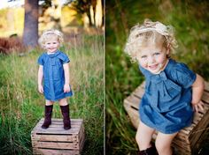 Perfect little girl style!