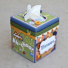 Tissue Box Cover Updated {Freebie}