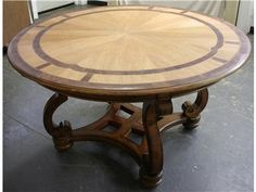 Magnussen Seven Oaks 54 Inch Round Table from the Biltmore Collection
