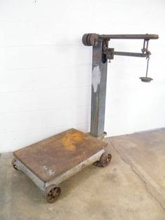 Antique Fairbanks Scale Anyone Interested In It Antiques Pinterest Antiques