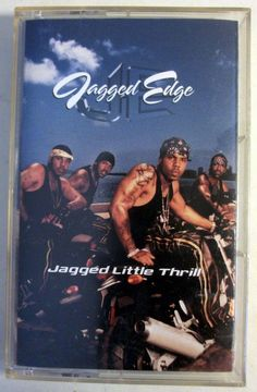 "Jagged Edge ""Jagged Little Thrill"" Cassette Tape 2001 Sony/50 50 Def Recordings"